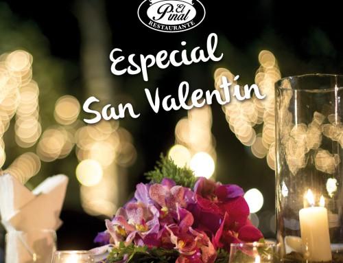 Menú San Valentín 2016