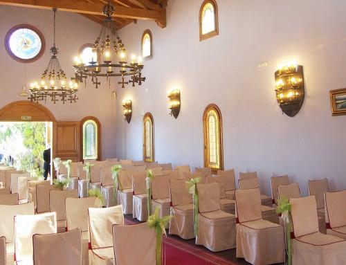 La Ermita, interior